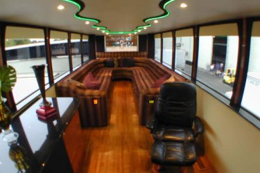 Top Deck of Anderson Mobile Estates Babygirl motorhome trailer