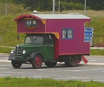French classic motorhome or motorised gypsy caravan?