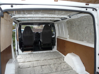 Panelling amp Insulating The Van MotorhomePlanetcouk