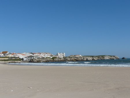 Part of the beach at Baleal