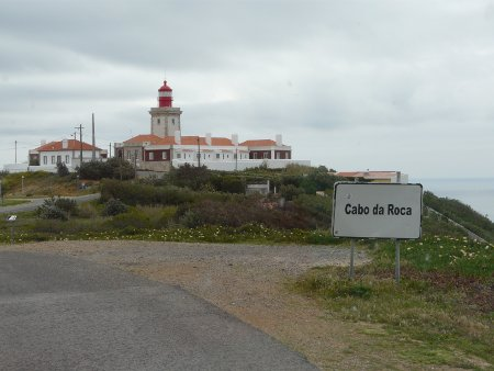 That most westerly feeling... approaching the Cabo da Roca