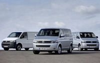 The new Transporter will come in panel van, Caravelle and California models