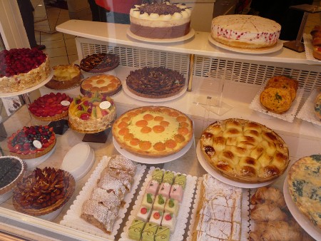 ...some very fine cake shops...