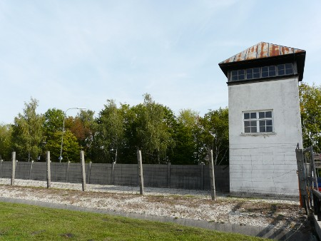 Guard tower, Dachau Concentration Camp