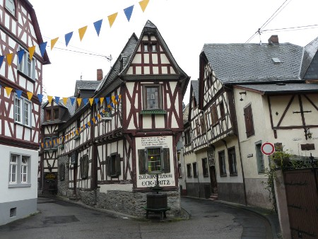 Braubach is a town best explored on foot...
