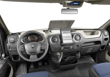 New Renault Master dashboard