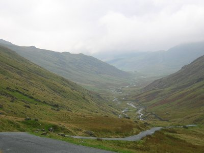 Hardknott Pass, Lake District