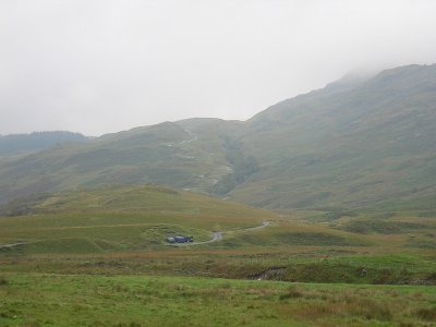 Hardknott Pass, Cumbria