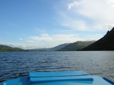 Self-drive boat hire on Ullswater