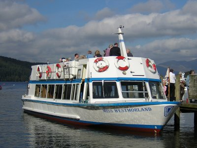 Lake Windermere cruise boat