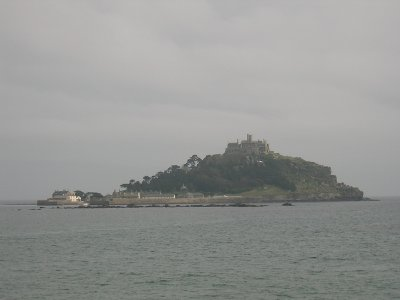 St. Michael's Mount, in Mounts Bay, Cornwall