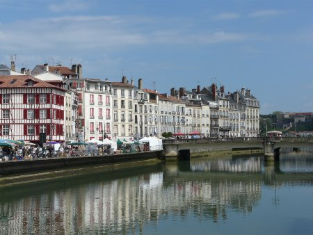 The river at Bayonne