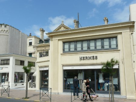 Hermes shop in Biarritz