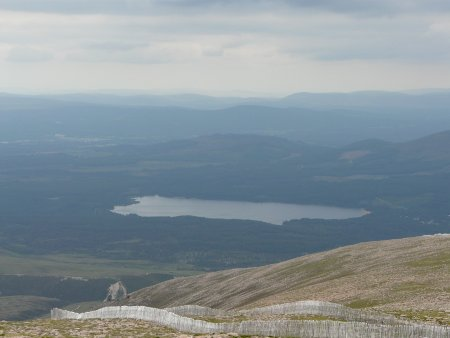 View from Cairn Gorm mountain