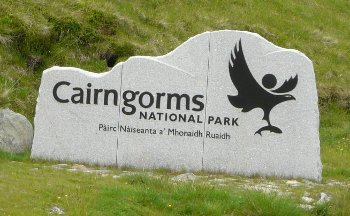 Picture of Cairngorms National Park sign