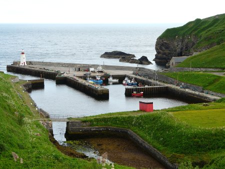 Lybster harbour
