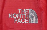 North Face logo on jacket