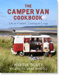 The Camper Van Cookbook by Martin Dorey and Sarah Randell