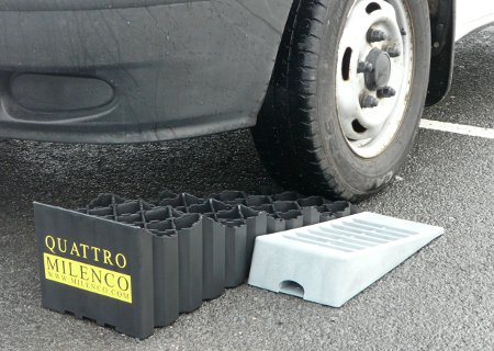 Milenco Quattro Levels vs Kampa Large Levelling Ramps