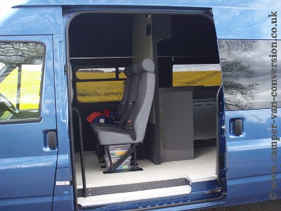 Campervan travel seats from Ford Transit minibus