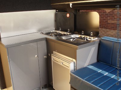 Camper Van Conversion Kitchen