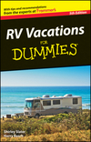 RV Vacations For Dummies, by Harry Basch and Shirley Slater