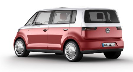 Volkswagen Bulli concept vehicle - exterior rear