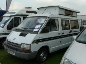 Oldest motorhome for sale at Peterborough show