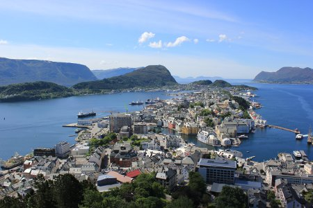 The view from above Alesund