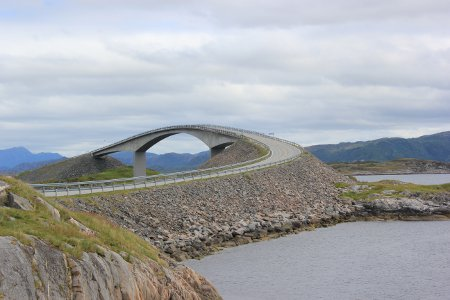 A section of the Atlantic Road