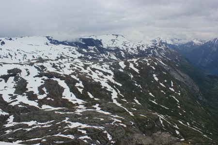 View from top of Dalsnibba
