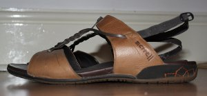Merrell Micca sandals in brown leather