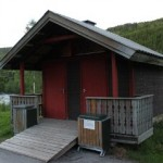 Norwegian earth closet public toilet