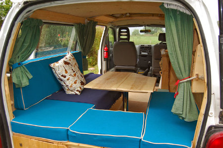 Reader DIY Conversion Toyota Hiace Camper With Pop Up Roof