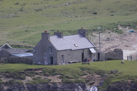 The house on Noss