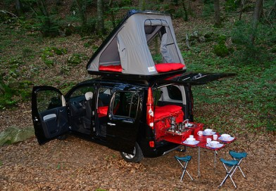 RoomBox easyTech with optional roof tent