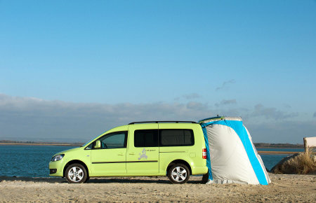 Volkswagen Launches Caddy Maxi Camper Conversion