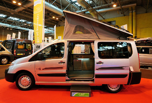 G Amp P Unveils Toyota Proace Campervan Conversion At Nec