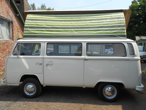 Fully restored VW Bay Transporter
