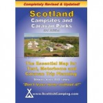 Scotland Campsites and Caravan Parks Map