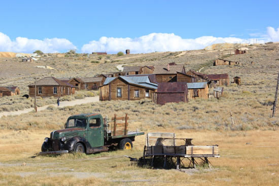Abandoned truck at Bodie