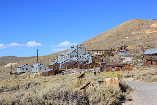 The old mine at Bodie