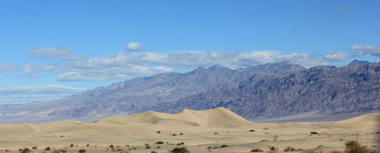 Mesquite Sand Dunes Death Valley