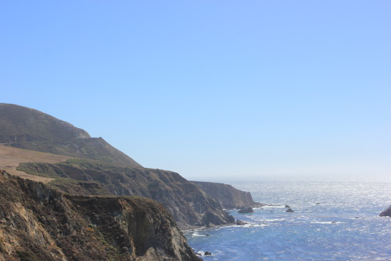 Pacific coast on CA-1