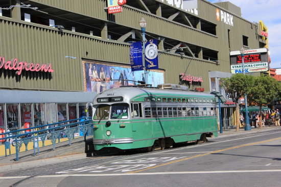 San Francisco old tram
