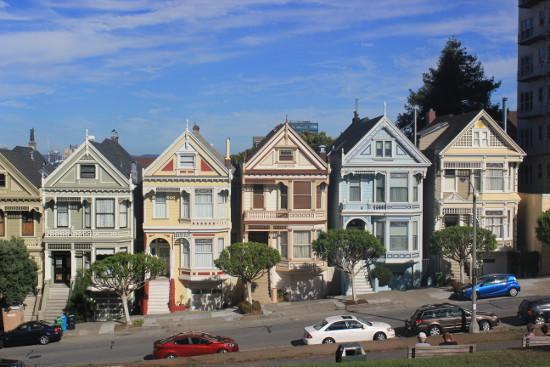 San Francisco Painted Ladies houses