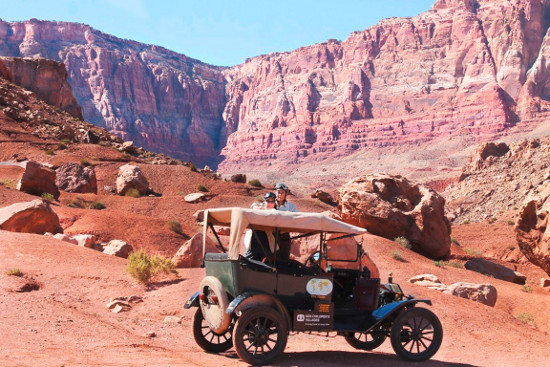 Ford Model T world tour