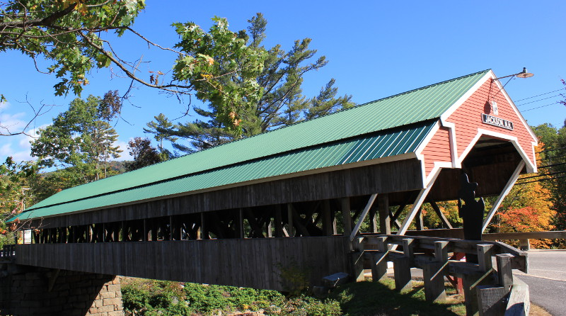 Covered bridge, Jackson New Hampshire