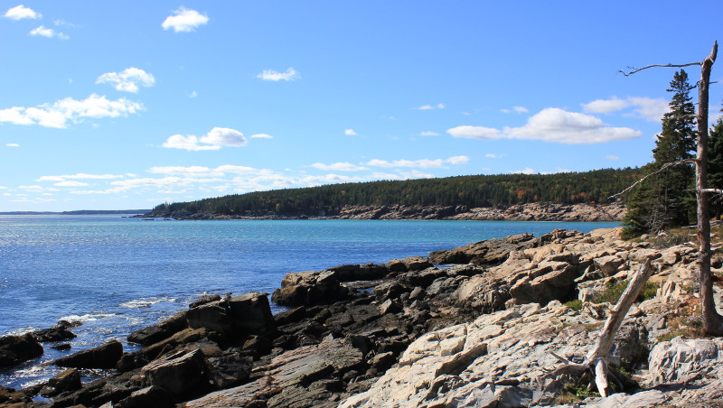Otter point views, Acadia NP coastal path