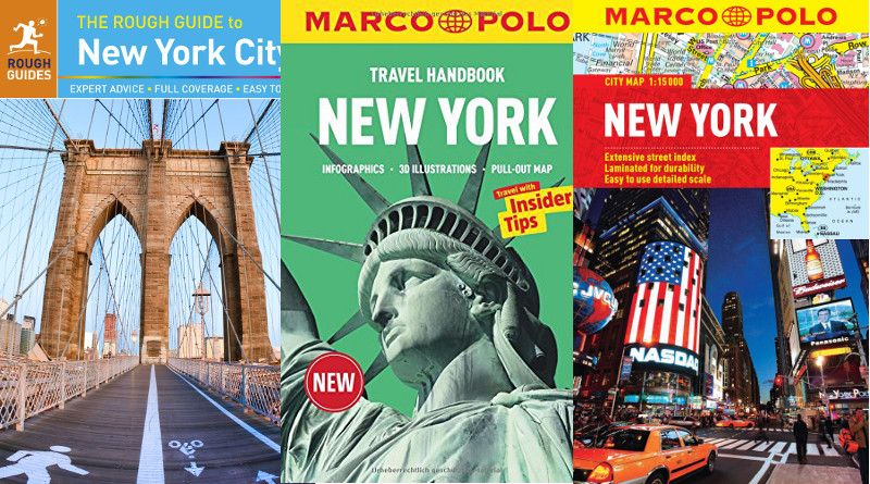 Rough Guide and Marco Polo New York Guides